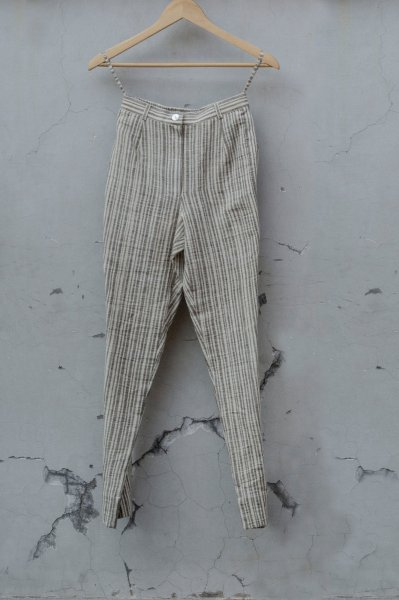 PENCIL PANTS-STRIPES